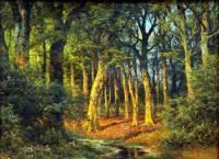"""Obraz č.12 """"Les"""" namaloval slavný malíř: (náhled)"""