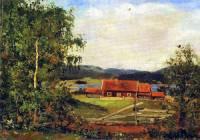 """Autorem obrazu č.13 """"Krajina Maridalenu"""" je slavný malíř: (náhled)"""