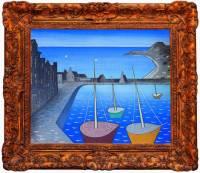 """Který slavný malíř je autorem obrazu č.3 """"Neděle v Camaret""""? (náhled)"""