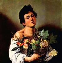 """Autorem obrazu č.4 """"Chlapec s košíkem ovoce"""" je slavný malíř: (náhled)"""