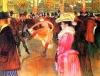 """Autorem obrazu č.5 """"Tanec v Moulin Rouge"""" je slavný malíř: (náhled)"""