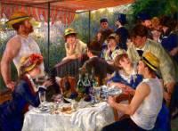 """Který slavný malíř je autorem obrazu č.7 """"Snídaně veslařů""""? (náhled)"""