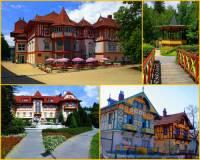Stavby na fotografii č.2 jsou dílem architekta-stavitele: (náhled)