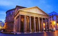 Která významná římská stavba je na fotografii č.9? (náhled)