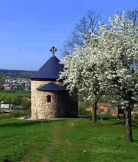 Který typ románské stavby je na obrázku č.4? (náhled)