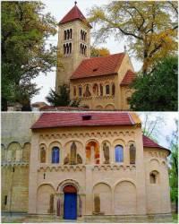 Jaká stavba v románském slohu je na obrázku č.7? (náhled)