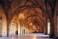 Na obrázku č.3 je jeden z interiérů Starého královského paláce na Pražském hradě. Jaký má název: (náhled)