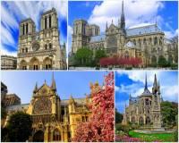 V období gotiky se po celé Evropě stavělo velké množství významných sakrálních staveb. Která stavba je na fotografii č.6? (náhled)