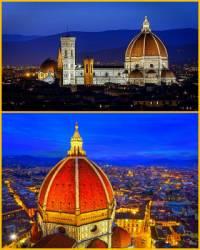 Na obrázku č.5 je stavba pocházející z období rané renesance, kdy se snoubí gotická katedrála s renesanční kupolí. Která stavba je na obrázku č.5? (náhled)