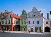 Renesanční domy na fotografii č.20 si mohou turisté prohlédnout v historickém centru ve městě: (náhled)