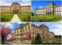 Rezidenci knížecích biskupů se zahradou na obrázku č.12, která patří k největším a nejkrásnějším barokním palácům mohou turisté obdivovat ve městě: (náhled)