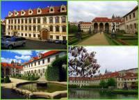 Jak se jmenuje barokní palác se zahradou na fotografii č.13? (náhled)