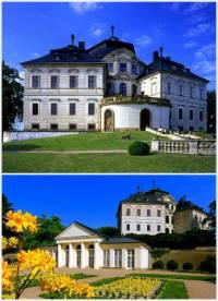 Jak se jmenuje zámek na fotografii č.16, který je považován za typicky barokní zámeckou stavbu? (náhled)