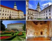 Jak se jmenuje barokní zámek se zahradou na fotografii č.6? (náhled)
