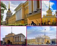 Jaká klasicistní stavba v Petrohradě je na obrázku č.3? (náhled)