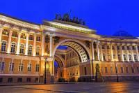 Která klasicistní budova v Petrohradě je na fotografii č.4? (náhled)