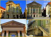 V období klasicismu a empíru byly stavěny i veřejné budovy. Kterou veřejnou budovu postavenou v empírovém slohu vidíte na obrázku č.14? (náhled)