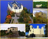 Který zámek přestavěný v novogotickém stylu je na fotografii č.6? (náhled)