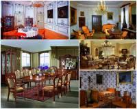 Stejně, jako v předchozích obdobích – v baroku, rokoku a klasicismu, tak i v období romantismu byl kladen velký důraz na vnitřní zařízení interiérů – jak zámeckých komnat, tak i pokojů ve vilách a vícepokojových bytech bohatých továrníků a měšťanů. Jak se nazýval umělecký směr a životní styl typický pro nastupující společnost bohatých vrstev obyvatelstva – továrníci, bankéři, majitelé nemovitostí, hoteliéři, obchodníci, vysoko postavení úředníci, politici? Zařízení pokojů v tomto stylu je na obrázku č.1. (náhled)