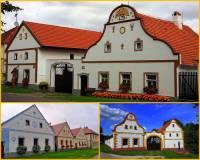 V období romantismu se zejména v oblasti jižních Čech prosadil nový svébytný stavební sloh lidové architektury, který vycházel z klasicistní a barokní architektury. Jak se tento stavební sloh, ve kterém jsou postaveny stavby na obrázku č.20, oficiálně nazývá? (náhled)