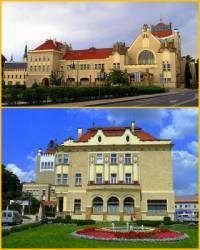 Jaká stavba, která je považována za skvost secesní architektury v ČR, je na fotografii č.12? (náhled)