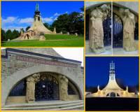 V období secese vznikl i 1. mírový památník v Evropě. Jak se památník na obrázku č.23 jmenuje a s kterou historickou událostí je spojen? (náhled)