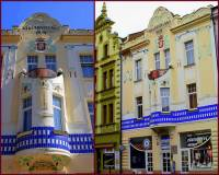 """Secesní """"Nakladatelský dům"""" na fotografii č.5 je stavební památkou ve městě: (náhled)"""