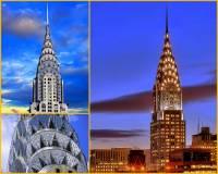 V meziválečném období vznikalo mnoho nových staveb nejen v Evropě, ale i na americkém kontinentě. Zde vznikaly převážně, pro Ameriku tak typické, mrakodrapy. Který mrakodrap postavený v USA ve stylu art deco je na fotografii č.21? (náhled)