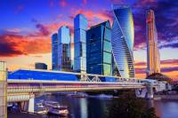 Moderní obchodní čtvrť města na fotografii č.27, která byla vystavěna na přelomu 20. a 21. století se jmenuje: (náhled)