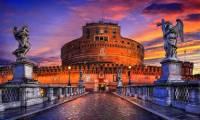 Která významná římská stavební památka je na obrázku č.1? (náhled)