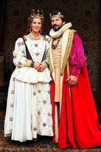 """Jsou na obrázku č.13 král Bedřich a královna Kateřina z filmové pohádky """"Kdyby byly ryby""""? (náhled)"""