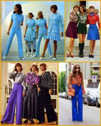 V kterých letech 20. století se nejvíce nosila móda na obrázku  č.25? (náhled)
