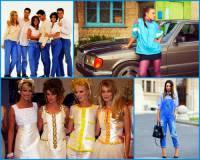 Oblečení a fenomén modelingu s top modelkami na obrázku č.29 jsou charakteristické pro: (náhled)