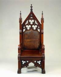 Z kterého historického období pochází židle na obrázku č.1? (náhled)