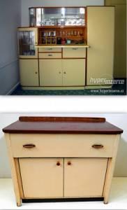 V kterých letech 20. století se zařizovaly kuchyně kredencí se sklápěčkou a mycím stolem s dvoudřezem na fotografii č.30? (náhled)