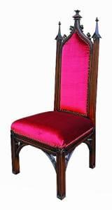 Historické období, z kterého pochází židle na fotografii č.3, se nazývá: (náhled)