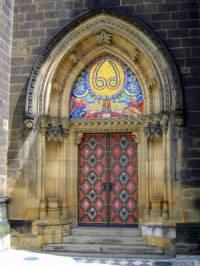 Portál na fotografii č.14 byl vytvořen ve stavebním slohu: (náhled)