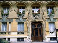 Stavební sloh, ve kterém byla vytvořena fasáda budovy na fotografii č.25, se jmenuje: (náhled)