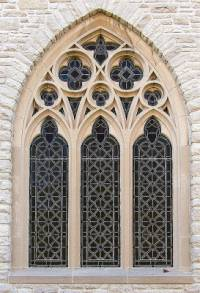 V jakém slohu vzniklo okno na fotografii č.2? (náhled)