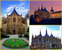Jak se jmenuje sakrální stavba na fotografii č.4, která je skvostem gotické architektury? (náhled)