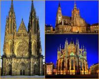 Jak se jmenuje sakrální stavba na fotografii č.3, která je skvostem gotické architektury? (náhled)