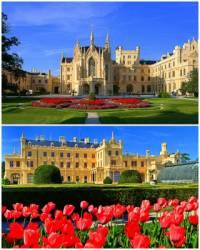 Jeden z nejkrásnějších evropských zámků vidíte na fotografii č.5. Jak se zámek jmenuje? (náhled)