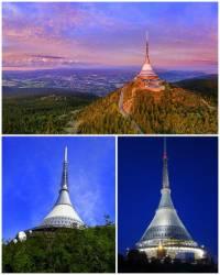 Jak se jmenuje hora, na které stojí unikátní stavba na obrázku č.2? (náhled)