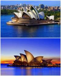 K unikátním stavbám světové architektury patří i budova na obrázku č.4. Je to: (náhled)