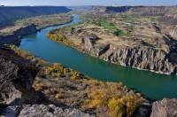 Která z těchto řek odvodňuje většinu území Idaha? (náhled)