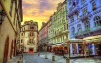 Která významná pražská ulice s historickými domy je na fotografii č.15? (náhled)
