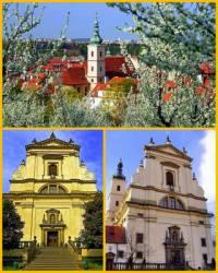 Jak se jmenuje historická sakrální stavba na fotografii č.8, do které se chodí návštěvníci Prahy dívat na Pražské Jezulátko?  ? (náhled)