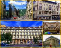 Jak se jmenuje jedna z nejvýznamnějších ulic v Praze s historickými domy na obrázku č.14? (náhled)
