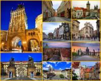 Jak se jmenuje hlavní turistická trasa centrem Prahy, která spojuje historické objekty na fotografii č.18?  (náhled)