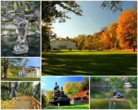 Krásný rozlehlý park s jezírky a historickými stavbami na fotografii č.14 se jmenuje: (náhled)